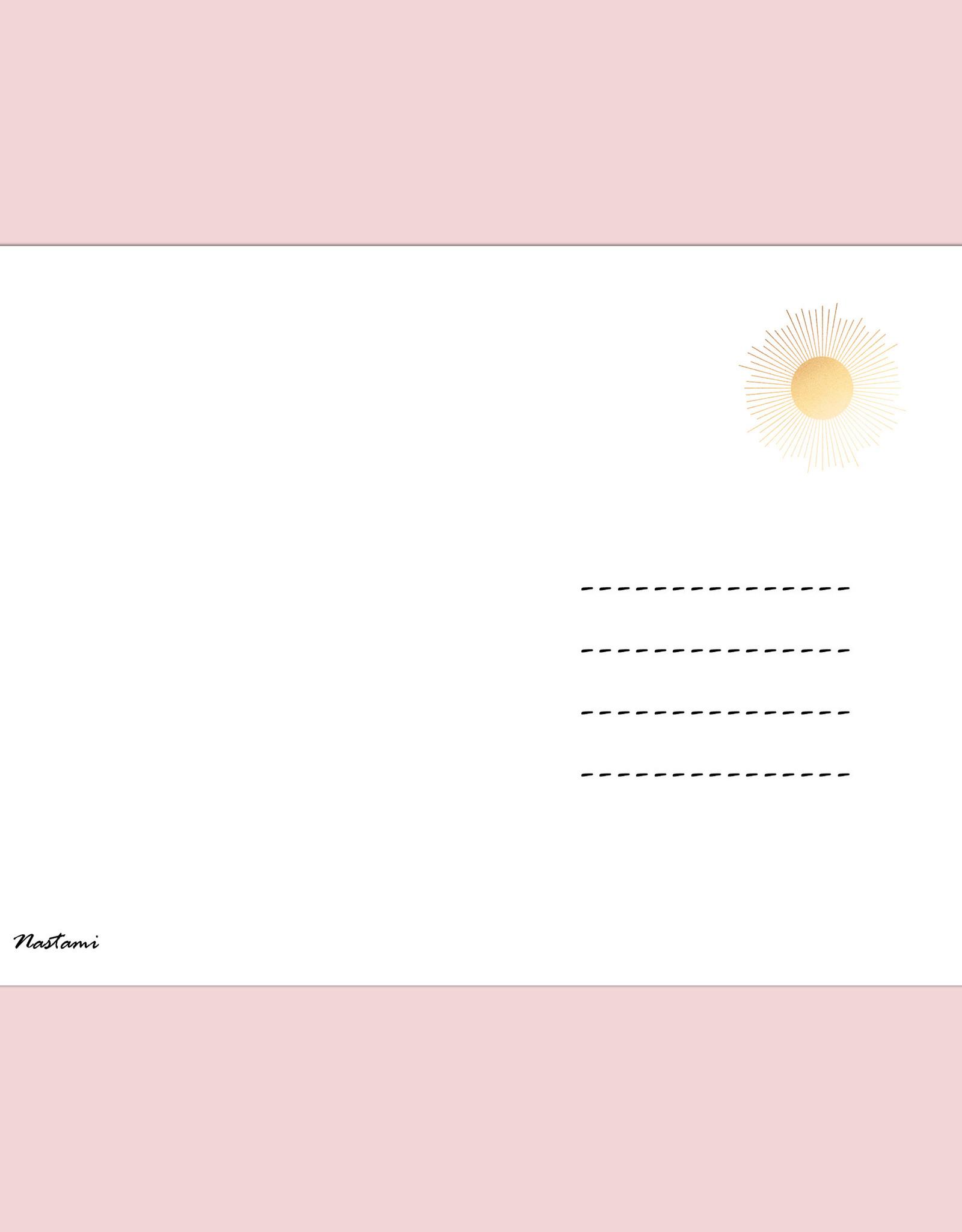 Postkarte Adventskalender YOGA HELL Weihnachtskalender Postkarte A6 Yoga Geschenk