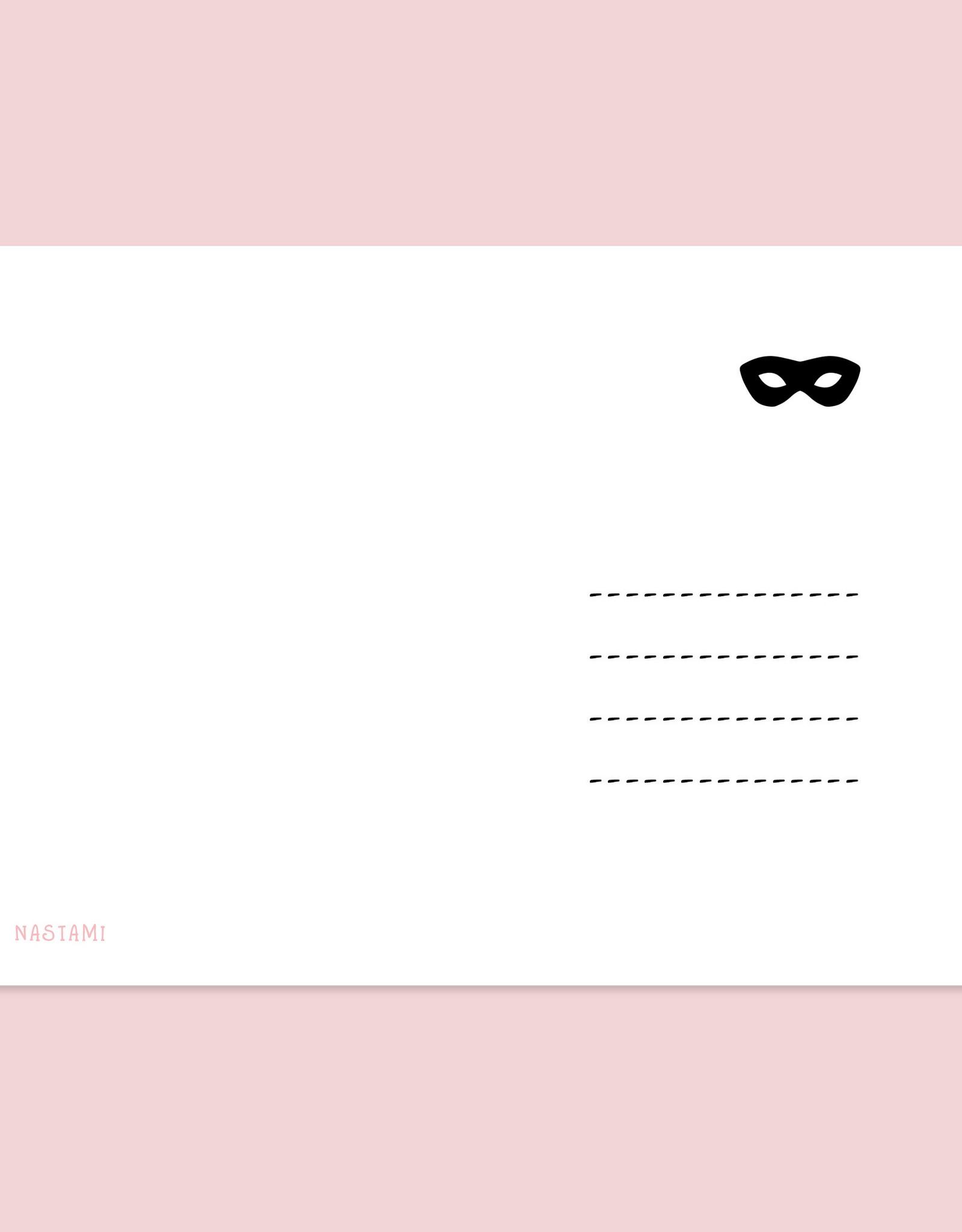 Postkarte MAN NENNT MICH ... Schwangerschaft verkünden Komplize Postkarte