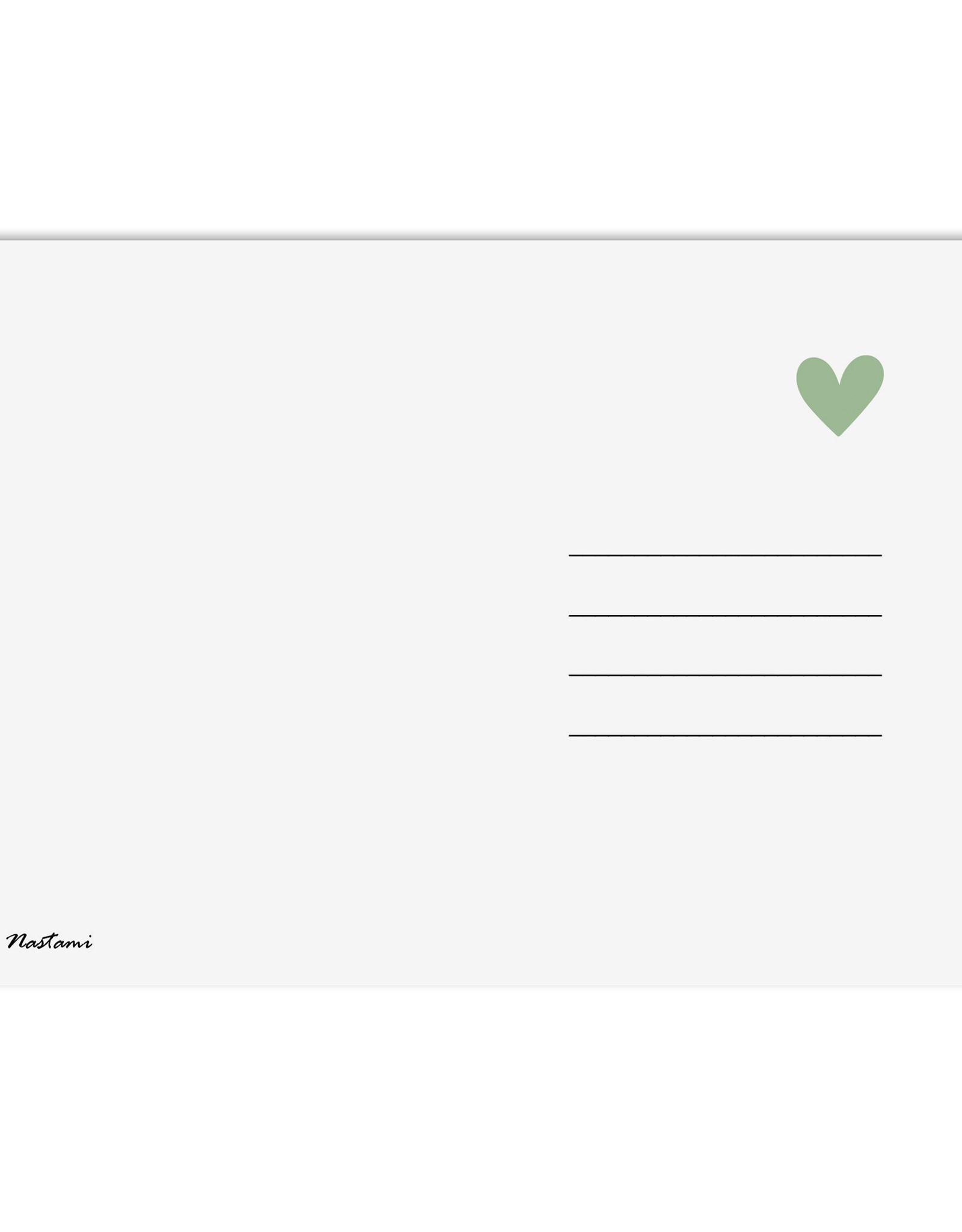 Postkarte HERZRASEN kann man nicht mähen Postkarte Liebe, Postkarten Sprüche, Postkarte Sprüche, Valentinstag Sprüchekarte
