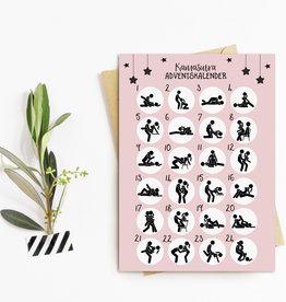 Postkarte Adventskalender KAMASUTRA