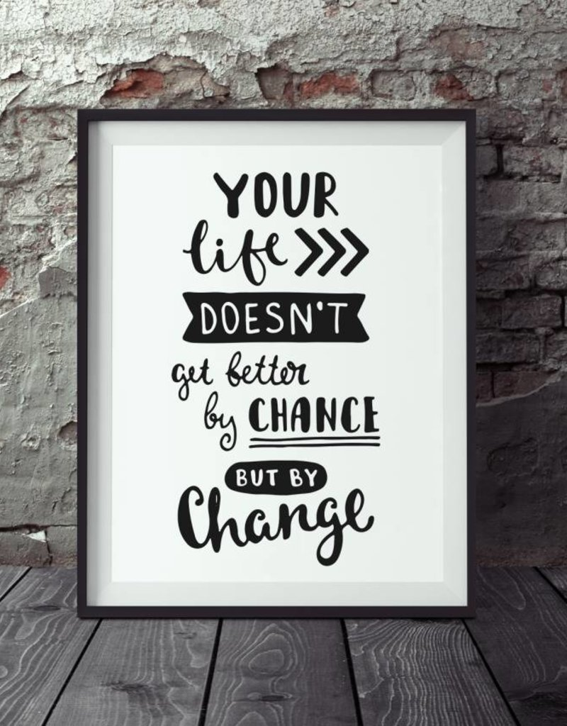 "Poster ""Change"""