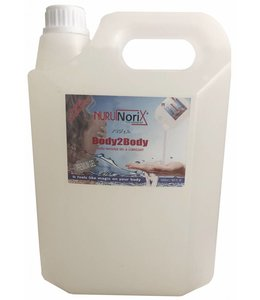 Nuru Massage Gels van Nuru Nederland Nuru gel Premium 5 liter Spa version - Copy