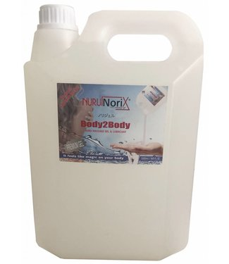 Nuru Massage Gels van Nuru Nederland Nuru gel Premium 5 liter Spa version