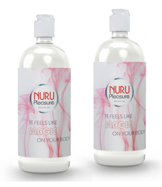 Nuru Massage Gels van Nuru Nederland Two Nuru Gel Classic 250ml