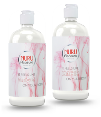 Nuru Massage Gels van Nuru Nederland Two Nuru gel Classic 450ml