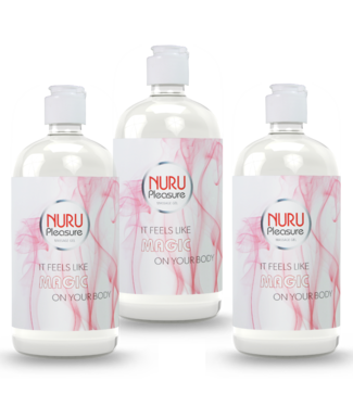 Nuru Massage Gels van Nuru Nederland Three Nuru gel Classic 450ml