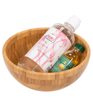 Nuru Pleasure Set Nuru Classic Gel 450 ml +Oli + Wooden bowl