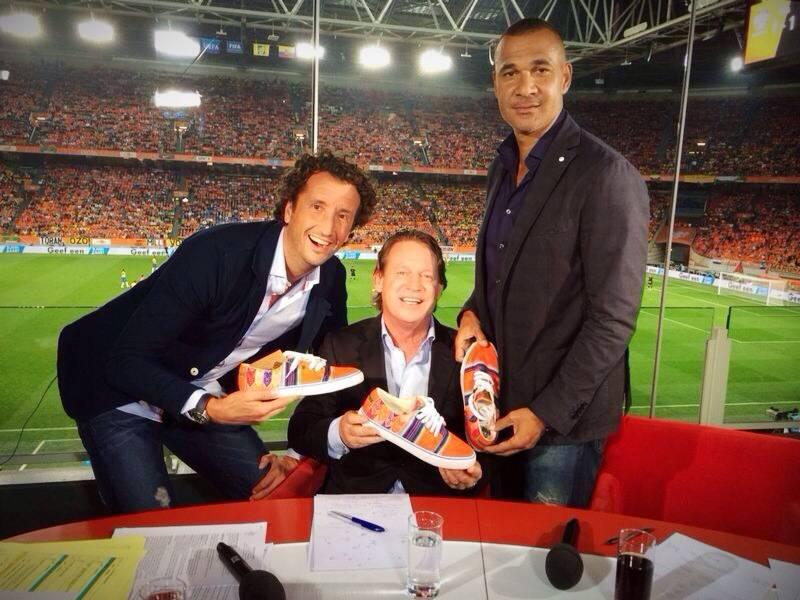 Jan Joost van Gangelen, Mario Been & Ruud Gullit met Mipacha Holanda