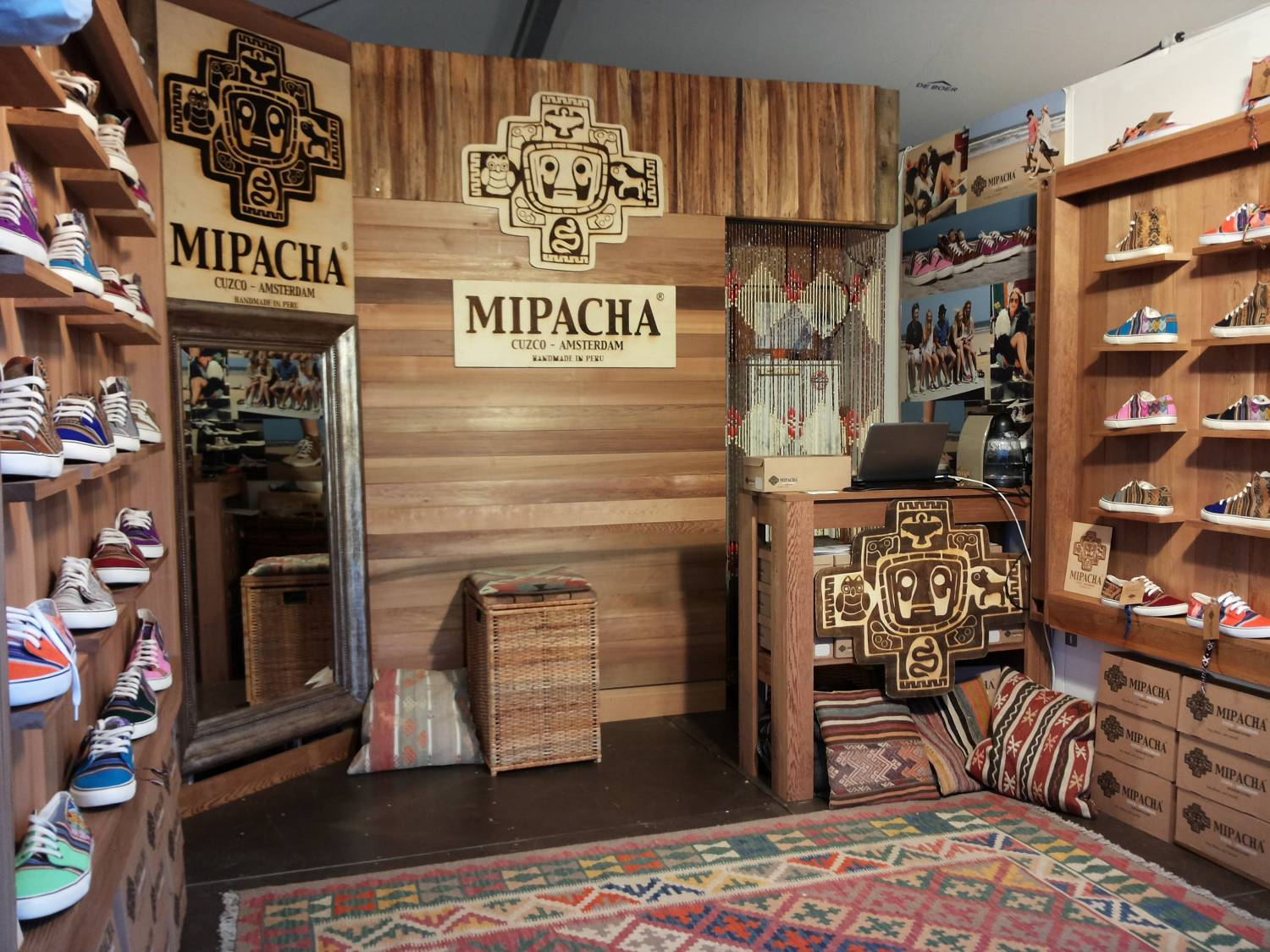 MIPACHA Shop during Hockey World Cup  2014 in The Hague