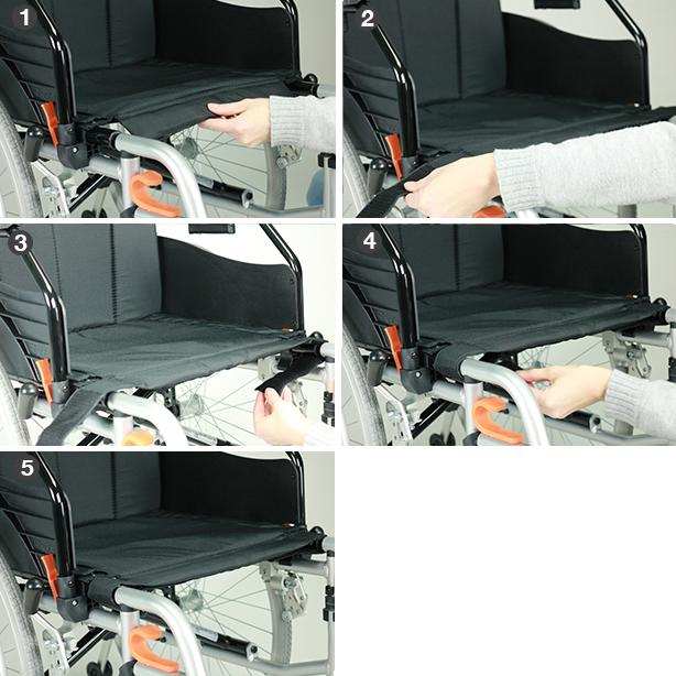 Excel G-Lehké (+) nastavení hloubky sedadla