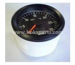 KO100829 - Toerenteller 3000 80mm. Incl. urenteller