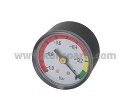 """KO105265 - Vuil indicator. Druk: -1/0 bar. Aansluiting: 1/8"""" BSP achter aansluiting"""