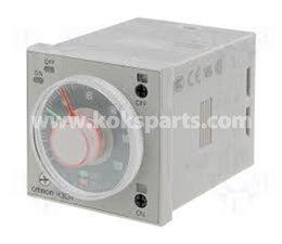 KO102004 - Tijdrelais H3CR-F8, 1.2 sec - 30h/24V.
