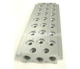 "KO108089 - Grundplatte 6 pneumatik ventil 1/8"""