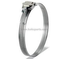 KO105789 - Slangklem. Maat: 12mm. band t.b.v. diameter: 32-44mm.