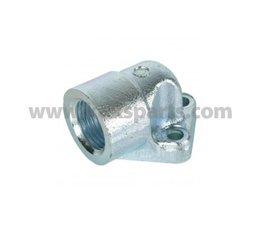 "KO105448 - Pumpenflansch Zahnradmotor 1/2"" 40mm/20mm"