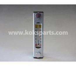 KO105239 - Peilglas. Maat: 91-20 incl. temp. meter t.b.v. Hydrauliektank