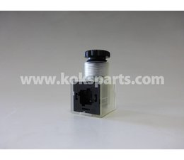 KO105196 - Stecker 24V DC inkl. Löschdiode