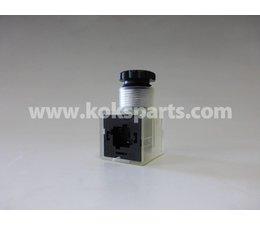 KO105196 - Stekker 24V DC incl. blusdiode