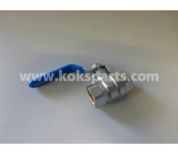 "KO104043 - Kugelhahn 1/2"" bi.dr. x 1/2"" bi.dr. Type: Mini C19"
