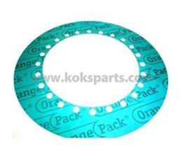 KO102354 - Pakking tbv IMO. Afmeting: 425x265x1,5mm. 24x gat 15mm.