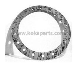 KO102353 - Pakking tbv IMO. Afmeting: 445x342x1,5mm. 18x gat 17mm.