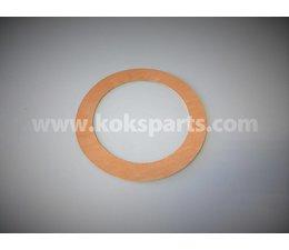 KO100431 - Flenspakking DN65. Afmeting: 127x77x2mm