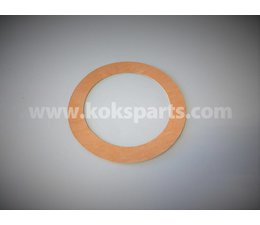 KO100554 - Flange Gasket DN125. Dimension: 192x141x2mm.