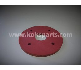 KO101355 - Flens Linatex . Afmeting: 210x10mm gat 12mm