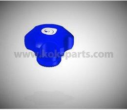KO102500 - Handwiel blauw mangat t.b.v. KO102499 en KO102514