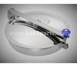 KO102499 - Mangat deksel lagedruk. Diameter: 404. 1 Sluiting