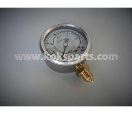 """KO100037 - Manometer. Afleesbereik: 0/6 bar. Aansluiting: 1/4"""" onder aansluiting"""