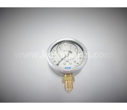 "KO105293 - Manometer 63mm. 1/4"" OA. 0-10 bar."