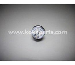 "KO120518 - Manometer. Afleesbereik 0/10 bar. Aansluiting: 1/8"" achter aansluiting"