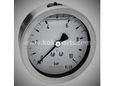 KO101635 - Manometer 0/10 bar. 100mm. (AA)