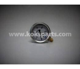 """KO100035 - Manometer. Lesereichweite: 0/250 Bar. Anschluss: 1/4"""" hinter Anschluss."""