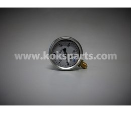"KO120515 - Manometer. Afleesbereik: 0/250 bar. Aansluiting: 1/4"" achter aansluiting"