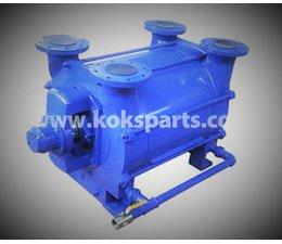KO101804 - Vacuumpomp. Type: Nash 1253. Draairichting: Rechtsdraaiend, incl. stopbuspakking