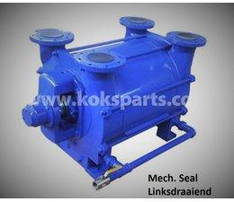 KO101863 - Vacuumpomp. Type: Tornado 2400. Draairichting: Linksdraaiend, incl. mechanische seal