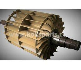 KO101946 - Rotor incl. waaier t.b.v. vacuumpomp. Type: 2400m3