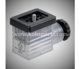 KO105603 - Stecker. 24V. incl. LED-Anzeige