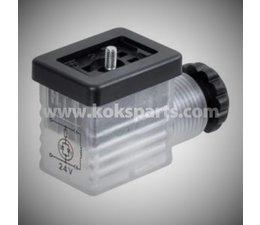 KO105603 - Stekker LED 24V. Transparant