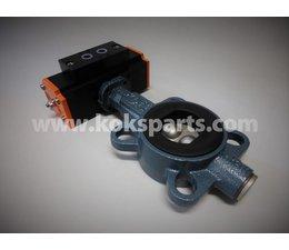 KO105738 - Vlinderklep. Type: DN50 Z011A ATEX 94/9/EC incl. Actuator KO103068