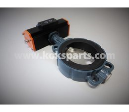 KO105739 - Absperrklappe. Typ: DN125 Z011A ATEX 94/9/EC inkl. Actuator KO103074