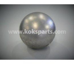 KO100490 - Vlotterbal Diamtr. 125 mm. Mat: RVS