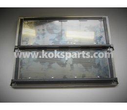 KO100243 - ADR Platte mit Montageplatte Edelstahl