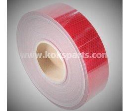 KO102729 - Reflectietape. Lengte: 50mtr. Breedte: 55 mm