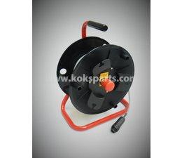 KO100061 - Noodstophaspel. Lengte kabel: 25mtr.