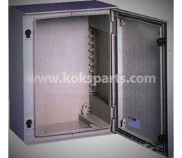 KO102589 - Gehäuse 430x330x200mm Polyesther.