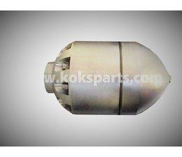 """KO110093 - Granaat 58 1""""1/4, incl. 10 keramische nozzles. Diameter 300-1000"""